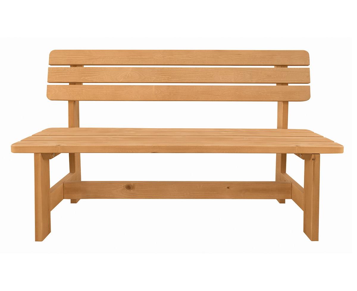 W Mega Dwie drewniane ławki ogrodowe - Producent mebli drewnianych HP31