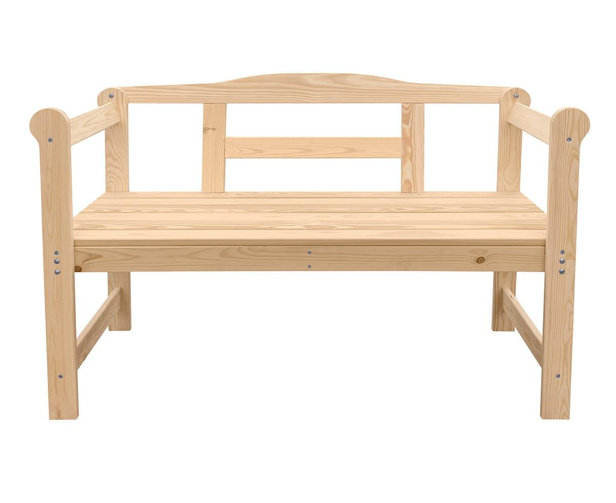 Ogromny Ławka ogrodowa drewniana - Producent mebli drewnianych ZQ11