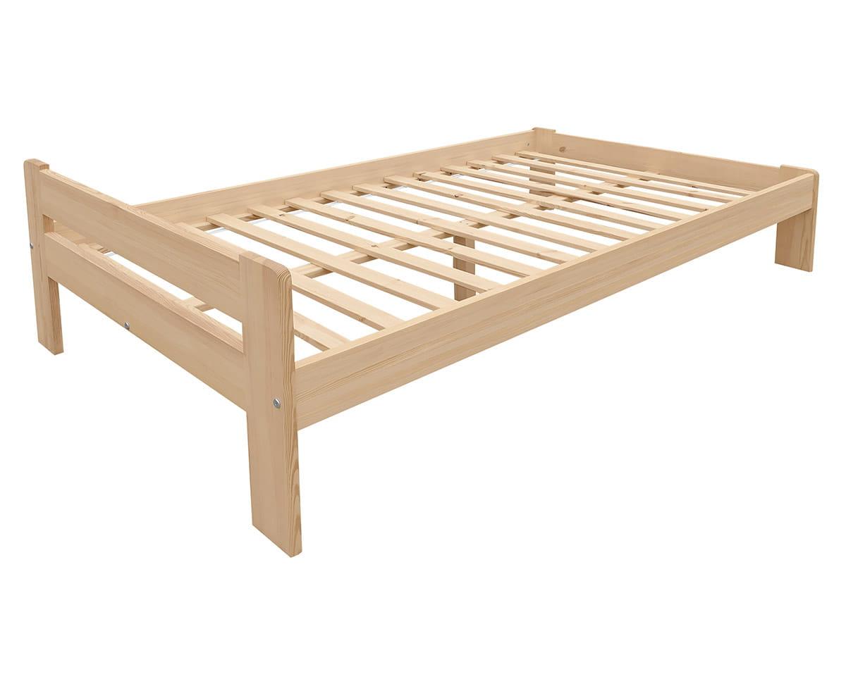 łóżko Drewniane Dwuosobowe Paryż