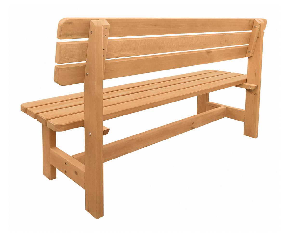 Dodatkowe Dwie drewniane ławki ogrodowe - Producent mebli drewnianych NO21
